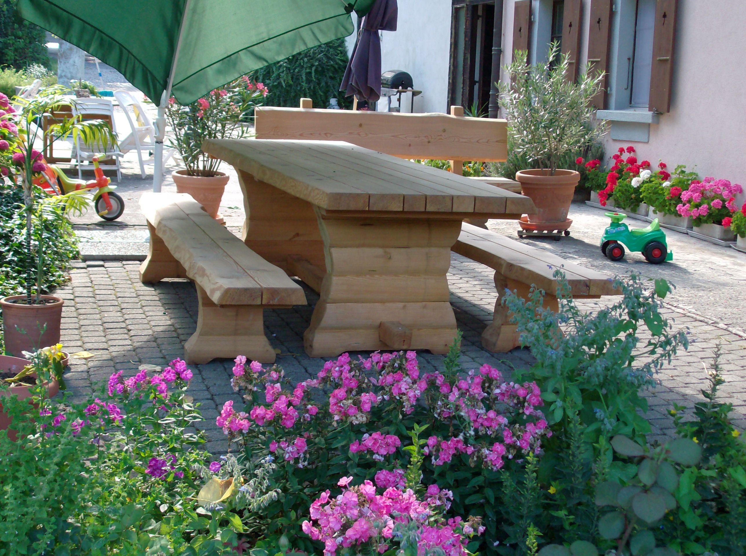 Mobilier de jardin | Triage forestier du Haut-Lac